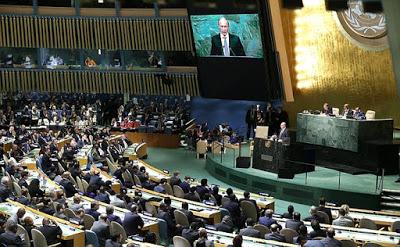 Rede von Präsident Putin vor der UN