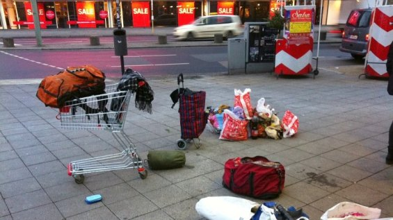 Obdachloser erfriert am Kurfürstendamm